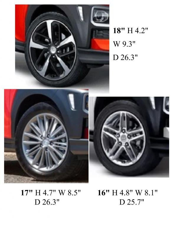 Compare Tire Sizes >> Kona Tire Size Compare Photo Hyundai Kona Forum