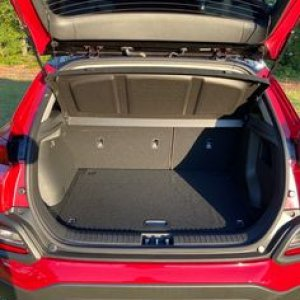 Rear Hatch Area